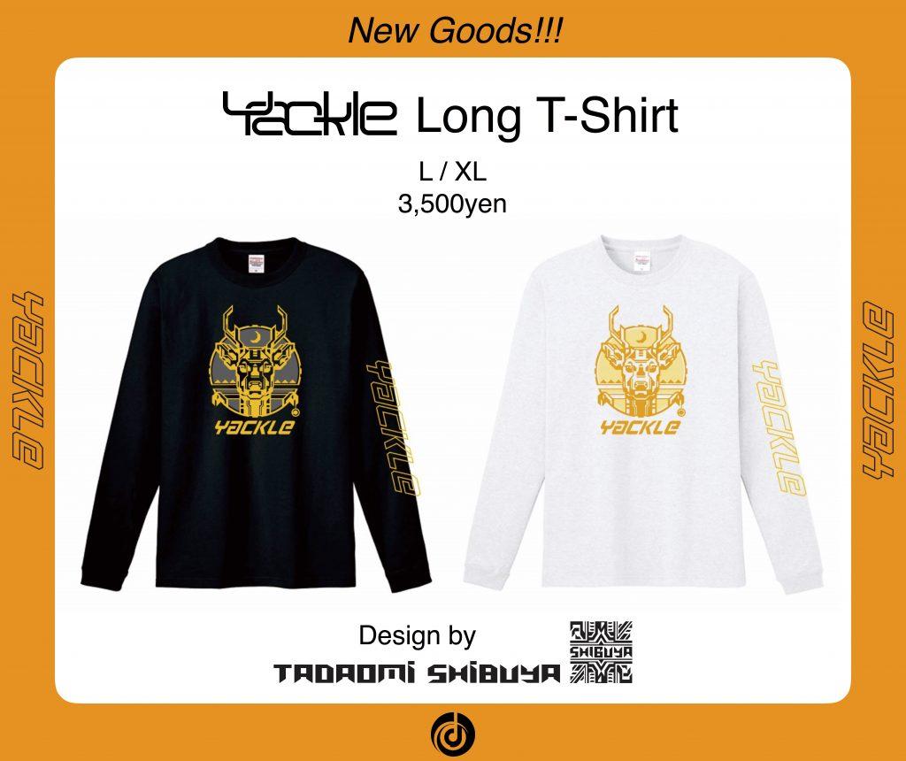 "Yackle初のオリジナルグッズ ""Yackle Long T-Shirt"" の発売が決定!!"
