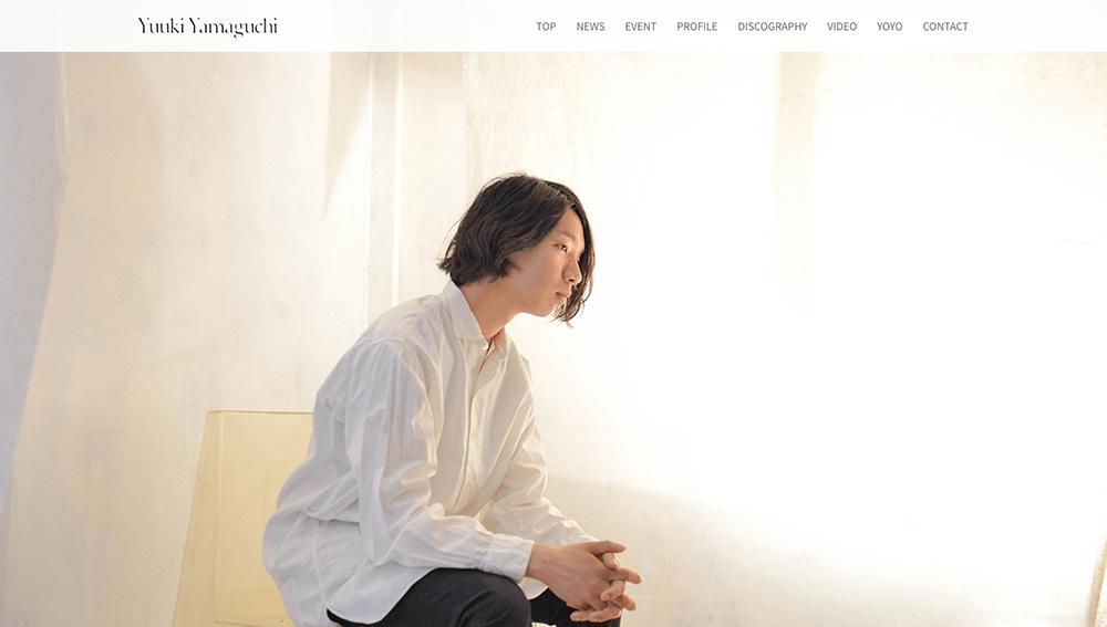Yuuki Yamaguchi / Yackleの公式ウェブサイトがオープン!