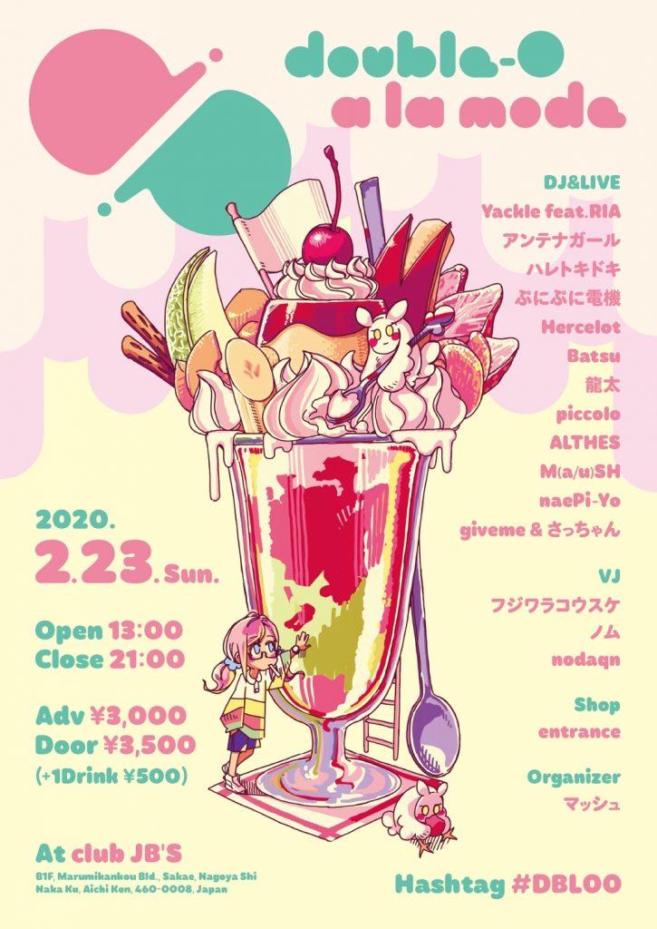 2020/02/23(日)開催「00[ダブルオー]a la mode」に出演。